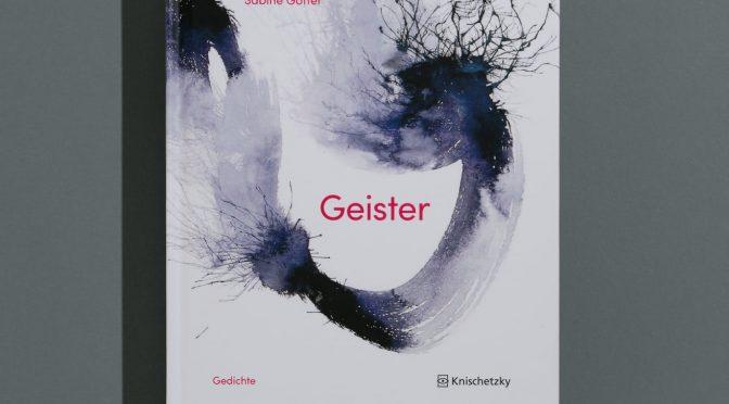 Geister. Gedichte von Sabine Göttel