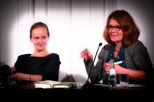 Saskia Hennig von Lange und Christina Rohwetter