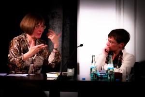 Sabine Göttel im Gespräch mit Stephanie Bart