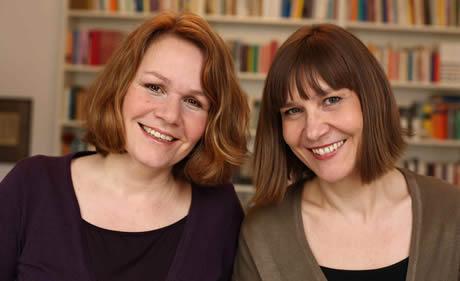 Christina Rohwetter & Dr. Sabine Göttel; Gründerinnen der Akademie Literatur & Leben